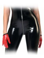 Patrice Catanzaro Molly: Lack-Handschuhe, rot
