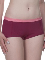 Bruno Banani Flooding: Panty 2er Pack, bordeaux/strawberry