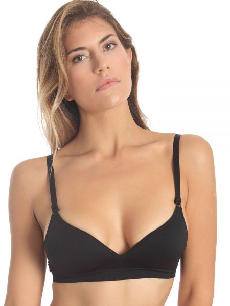 Sassa Just Easy: Bralette, schwarz