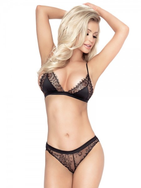 Provocative Splendeur: BH-Set, schwarz