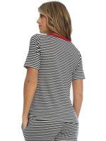 Sassa Sea Spirit: T-Shirt, midnight blue stripe
