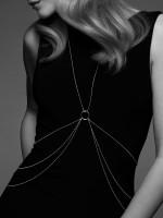 Bijoux Indiscrets The Magnifique: 8-Shape Körperkette, silber