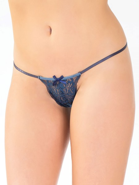 Coquette String: Southern Belle, navy