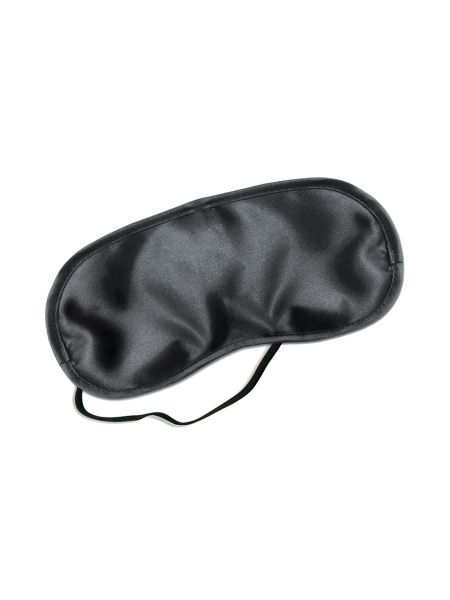Fetish Fantasy Satin Love Mask, Augenmaske, schwarz
