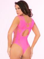 Pink Lipstick Stringbody: Some Body To Love, pink