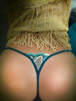Lola Luna Kamala: Luxus-String, blau/türkis/gold
