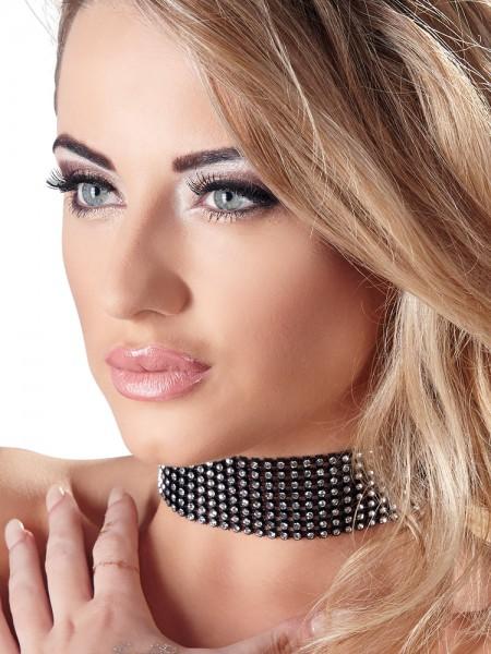 Strass-Halsband