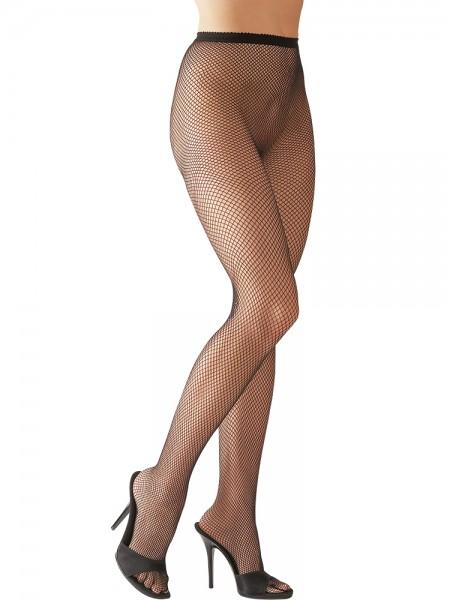 Netzstrumpfhose, schwarz