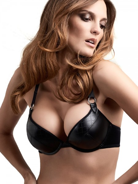 Marlies Dekkers Femme Fatale: Padded Super Push-Up BH, schwarz