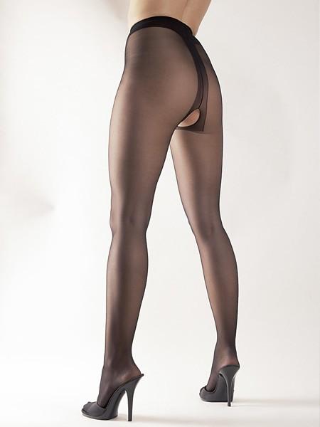 Ouvert-Strumpfhose, schwarz