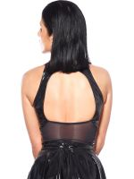 Patrice Catanzaro Kate: Lack-Top, schwarz