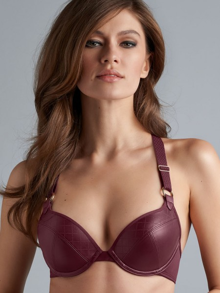 Marlies Dekkers Femme Fatale: Push-Up Padded BH, bordeaux