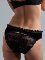 Marlies Dekkers Queen of Pearls: Slip, black pearl