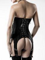 Grey Velvet 14496: Straps-Corsage, schwarz