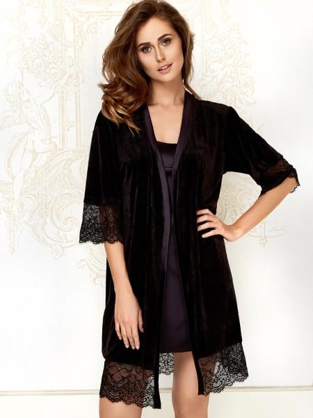Anabel Arto: Kimono, schwarz