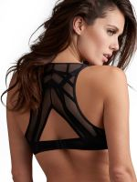 Marlies Dekkers The Illusionist: Padded Push up Bra, transparent schwarz
