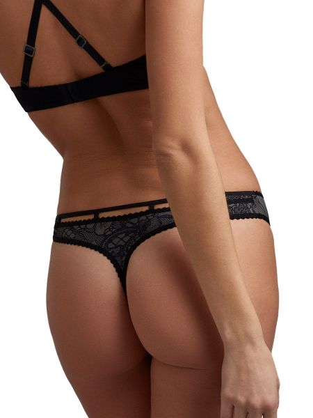 Marlies Dekkers Lioness of Brittany: String, black/stone