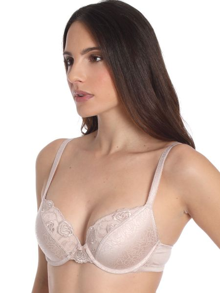 Sassa Puristic Rose: Push-Up BH, nude