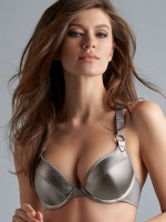 Marlies Dekkers Femme Fatale: Push-Up Padded BH, silver metal