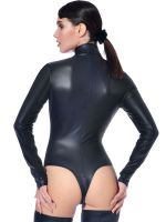 Patrice Catanzaro Sweety: Wetlook-Body, schwarz