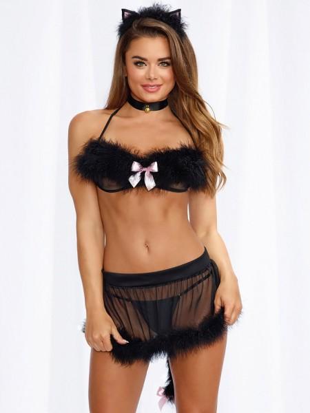 Dreamgirl Kostümset: Frisky Kitty