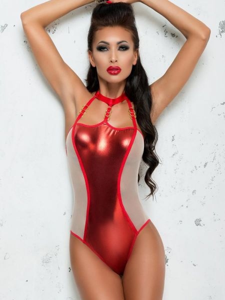 MeSeduce Body: Odette B0124, metallic-rot/beige