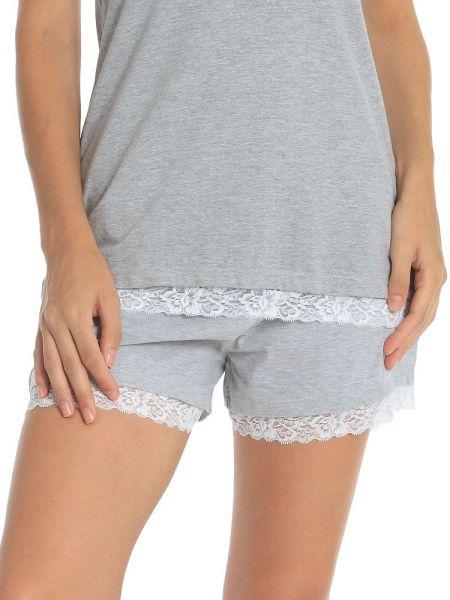 Sassa Melange Mix & Match: Shorts, grau