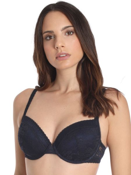 Sassa Lovesome Lace: Schalen-BH, navy