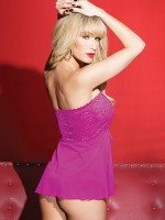 Coquette: Babydoll, pink