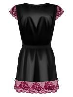 Obsessive 842: Kimono, schwarz