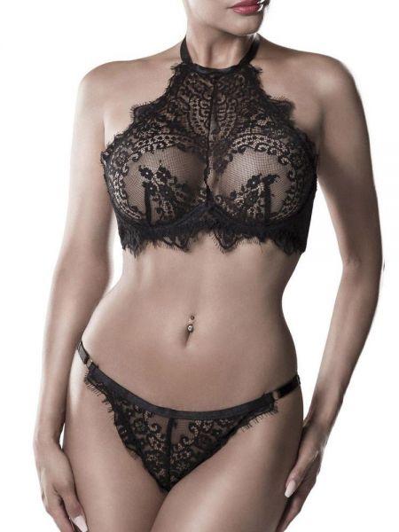 Grey Velvet 15311: Spitzen-Desousset, schwarz