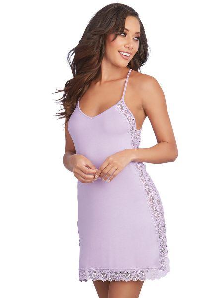 Dreamgirl Sleepwear Chemise, lavendel