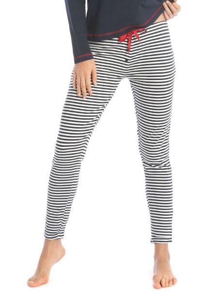 Sassa Sea Spirit: Lounge Pant, midnight blue stripe