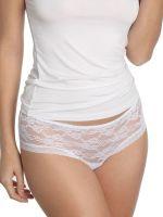 Sassa Lovesome Lace: Panty, weiß