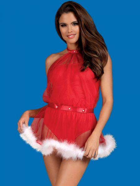 Obsessive Santastic: Weihnachtskostüm, rot