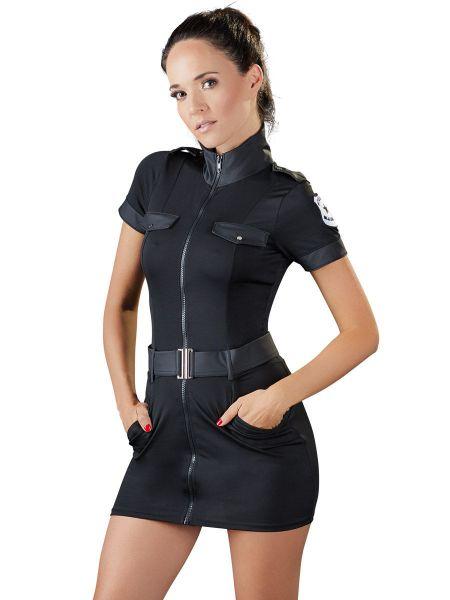 Special Police Officer-Kostüm, schwarz