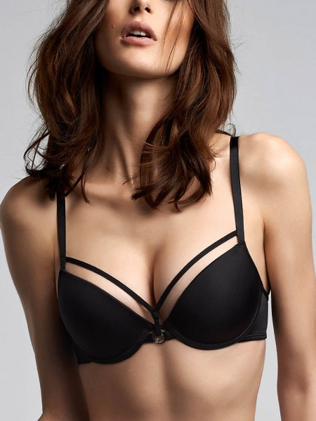 Marlies Dekkers Space Odyssey: Padded Push-Up BH, schwarz