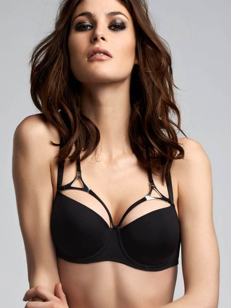 Marlies Dekkers Triangle: Padded Balcony BH, schwarz
