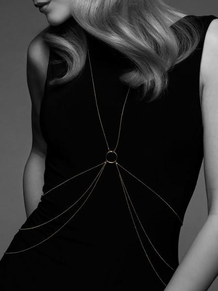 Bijoux Indiscrets The Magnifique: 8-Shape Körperkette, gold