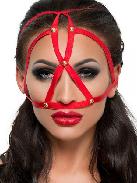 MeSeduce Kopfmaske MK08, rot