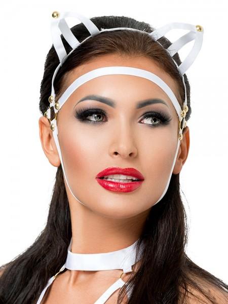 MeSeduce Kopfmaske MK07, weiß