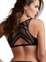 Marlies Dekkers The Illusionist: Bralette, transparent schwarz