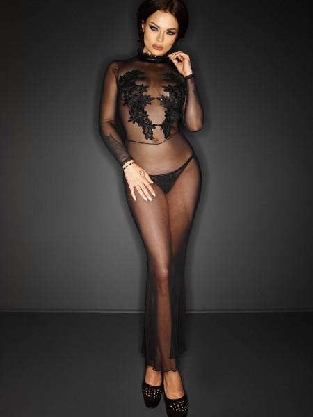 Noir Handmade: Abendkleid, schwarz