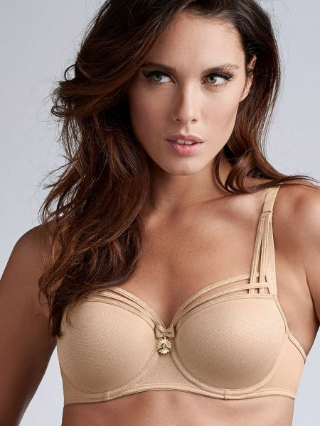Marlies Dekkers Dame de Paris: Padded Balcony BH, sand and golden lurex
