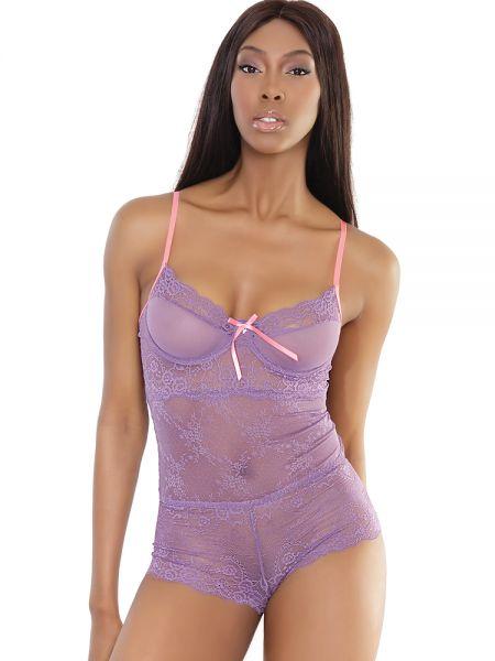 Coquette Elite: Teddy, lavendel/pink