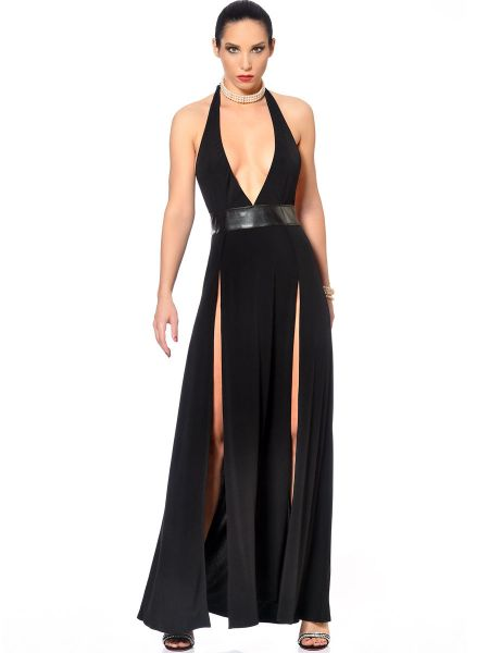 Patrice Catanzaro Isabella: Abendkleid, schwarz