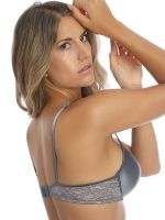 Sassa Magic Lace: Push-Up BH, dusty grey