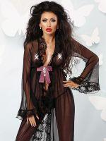 Lolitta Kimono: Starry Nights, schwarz