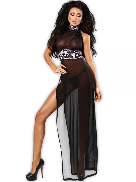 Lolitta Etra Petticoat: Chemise, schwarz/rosa