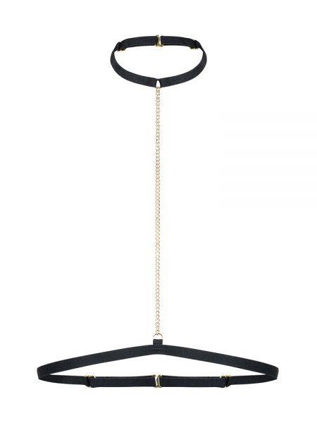 Petite Noir: I-Harness mit Kettchen 2818, schwarz